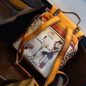 Nicole Lee Handbags - Nicole Lee printing backpack
