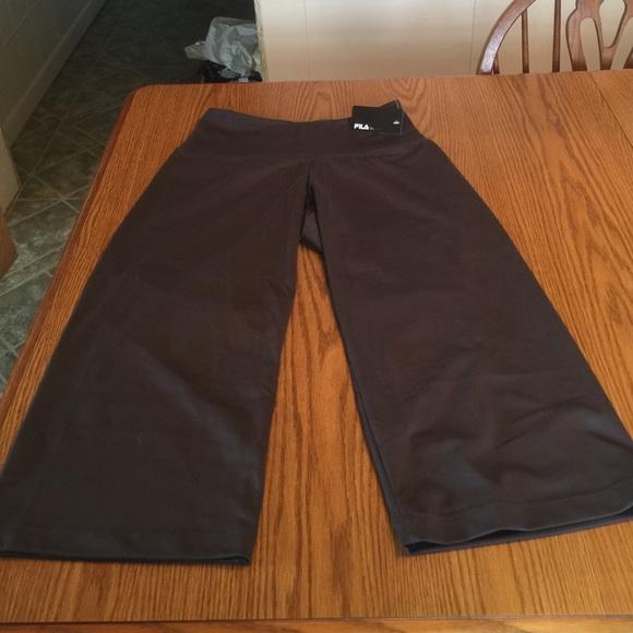 60% off Fila Pants - Fila women's loose fit Capri workout pants ...