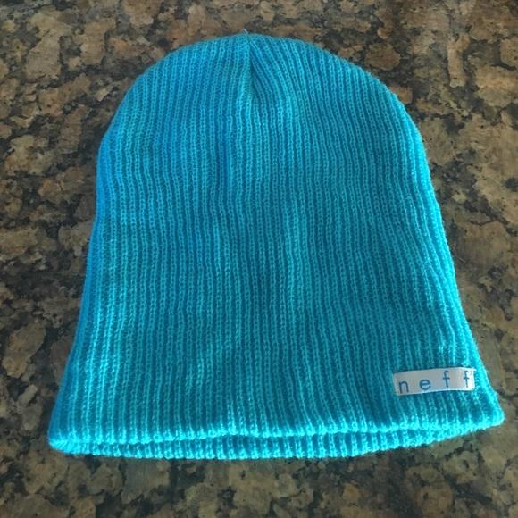 Turquoise blue beanie from Zumiez c79d9da0b1e