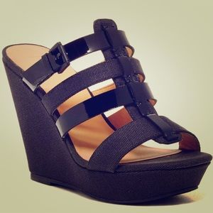 Joe's Jeans Canvas Wedges