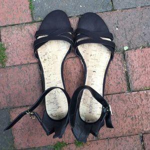 Merona ankle-strap sandals