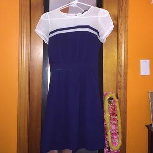 "Blue ""sailor"" Dress"