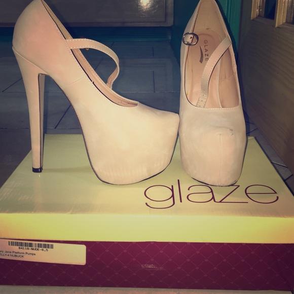 e1f77b8238 Glaze Shoes | Heels Style No Nelly4 | Poshmark