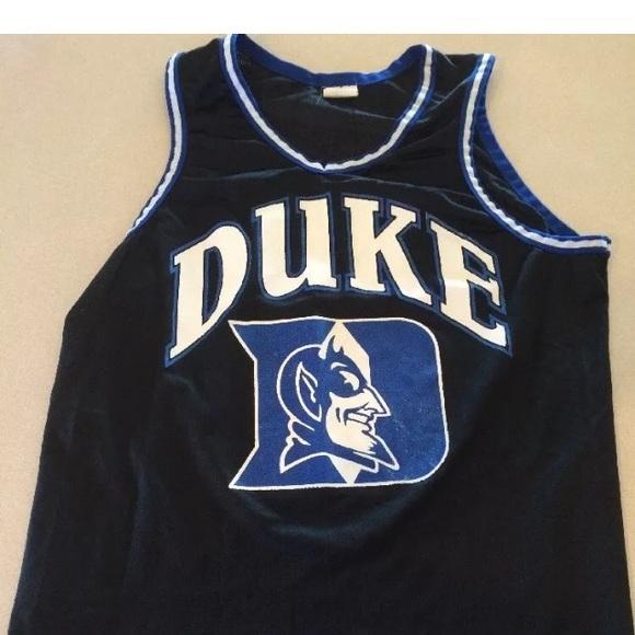 quality design fbeec 4400b Vintage Duke blue devils basketball jersey