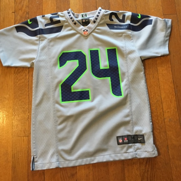 fe295920ecb Nike Other - Marshawn Lynch Seattle Seahawks Kids Jersey