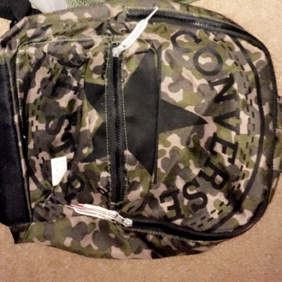 ecd6b875b73636 Converse Other - Boys camo converse backpack