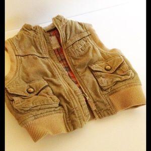 Osh Kosh Other - 🙌 Boys Vintage OshKosh Corduroy Vest Jacket, Top