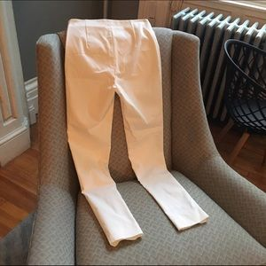 Nissa Pants - Nissa white pants from Brooklyn boutique
