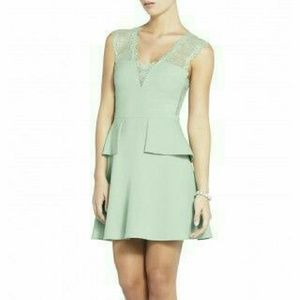 BCBGMaxAzria Dresses & Skirts - Sea Foam Green Lace Cocktail Dress