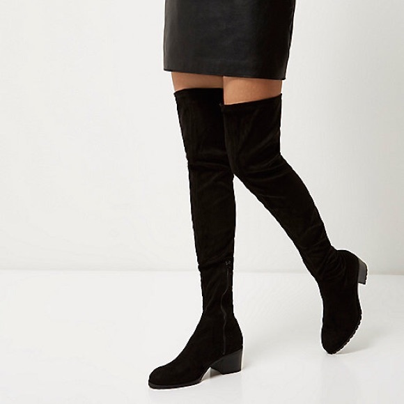 river island the knee boots thigh high boots from