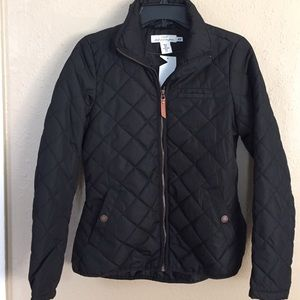 H&M Jackets & Blazers - Black Quilted Puffer Jacket