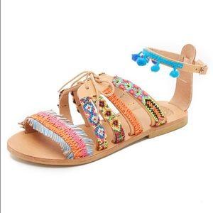 Elina Linardaki Shoes - Elina Linardaki Hula Hoop Sandal in Multi 36