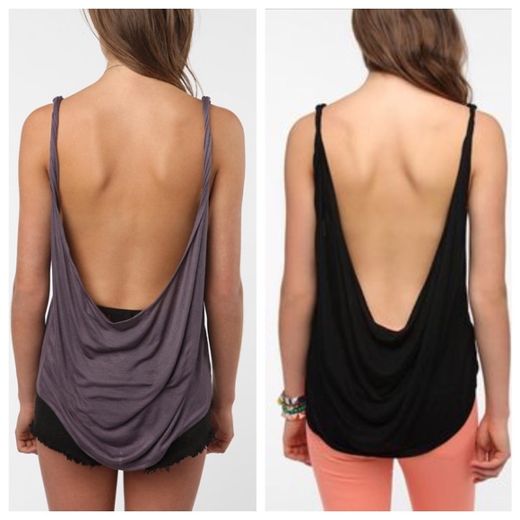 82c906d6a5 ... daydreamer LA brand low back tanks. M 57c10db75a49d04e86009366