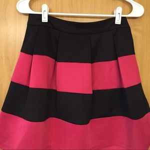 Cute pink and black skirt