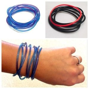 FLASH SALESet of Jelly Bands