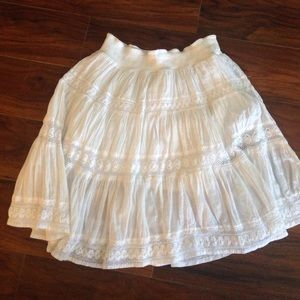 Dresses & Skirts - Edme & Esyllte white skirt size Large