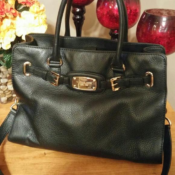 Michael Kors Hamilton - Pebbled leather. M 57ba5138c284563b090054e0 36c1f18d64ac2