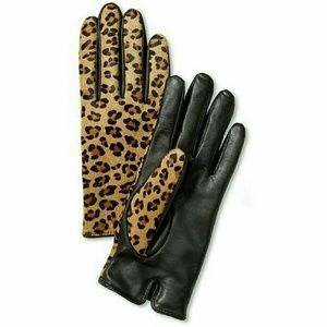 Banana Republic Accessories - Leopard Print Gloves