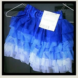Children's Place Color Block Soft Tulle Skirt 4