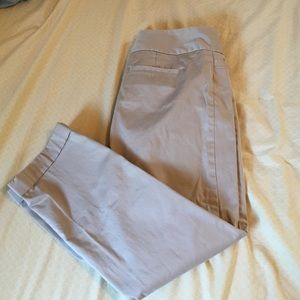 The Limited Pants - Tan capris from the Limited... Great condition.