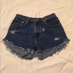 Ralph Lauren Pants - Ralph Lauren High waisted shorts