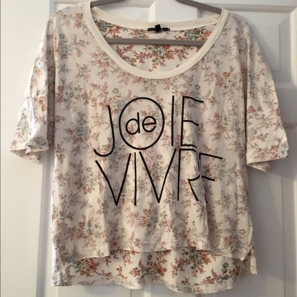 Urban Outfitters Tops - Urban Outfitters Truly Madly Deeply Floral Top
