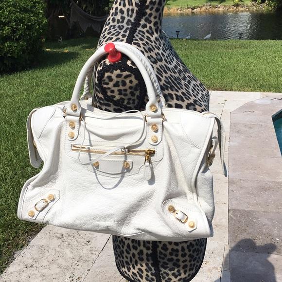 2c0ee05e64 Balenciaga Bags | White Classic City | Poshmark