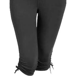 Old Navy Pants - Old Navy Compression Capri with gathered leg/tie