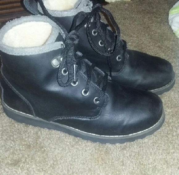 48ab425ffcc Ugg Maple Waterproof leather, wool lined boots