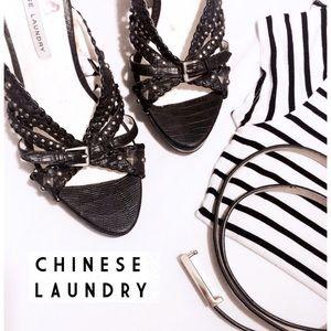 Chinese Laundry Shoes - •Cᴴᴵᴺᴱˢᴱ Lᴬᵁᴺᴰᴿᵞ• ᴮᴸᴬᶜᴷ ˢᵀᵁᴰᴰᴱᴰ ᶜᴴᵁᴺᴷᵞ ᵂᴱᴰᴳᴱˢ