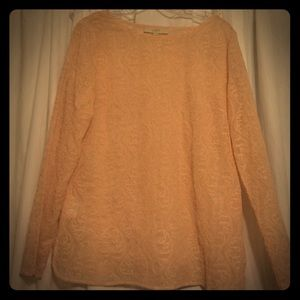 Loft Fashion Tops - Ann Taylor Loft Rustic Pink Long Sleeve Blouse