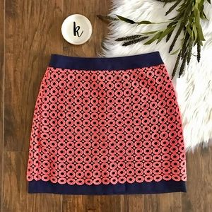 LOFT Dresses & Skirts - Loft Lace Overlay Shift Skirt