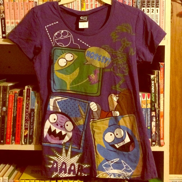 48dad9642 Cartoon Network Tops - 🏤 Fosters Home for Imaginary Friends  Tee🧀