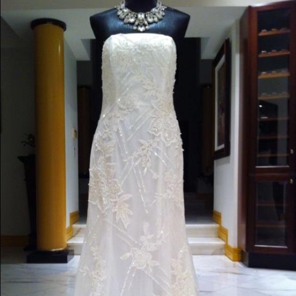 Valentino Dresses Wedding Evening White Lace Gown Dress Poshmark