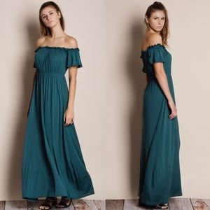 Bare Anthology Dresses & Skirts - Off Shoulder Maxi Dress