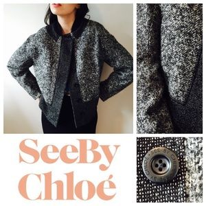 See by Chloe Jackets & Blazers - SALE🎉🆕See By Chloe wool boxy color jacket