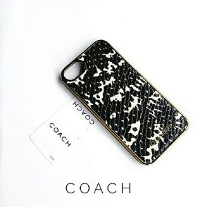 Coach Python print iPhone 5 case