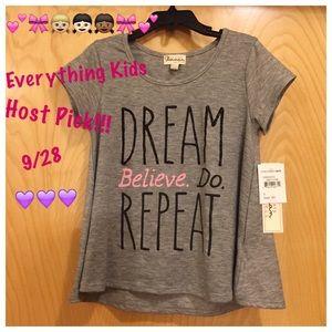 Ten Sixty Sherman Other - ❇️ 🎉9/28 Kids HP Dream. Believe. Do. Repeat. Tee