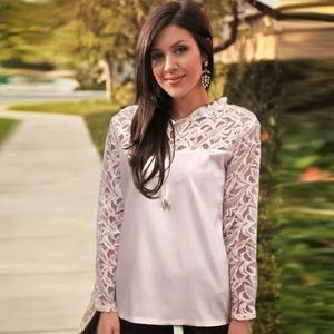 Tops - The Whitney Houston lace top