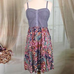 No Boundaries Dresses & Skirts - No Boundaries Multi Colored Summer Dress