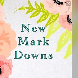Other - 🌸New Mark Downs!🌸