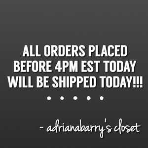 Shipping out all orders TODAY!!! (August 30)