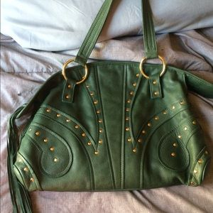 Bulga Handbags - Jade Bulga Butterfly SATCHEL