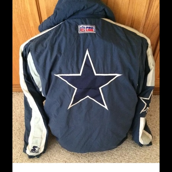 new style e9268 579b7 Dallas Cowboys NFL starter jacket vintage big star