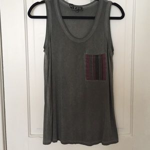 Stone Grey Pocket Tank
