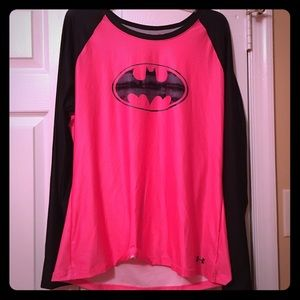 Batman long sleeve under armour shirt