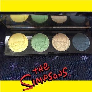 MAC Cosmetics Other - L.E. MAC Simpsons Green Eyeshadow Quad