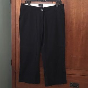Black dress pants from The Limited.