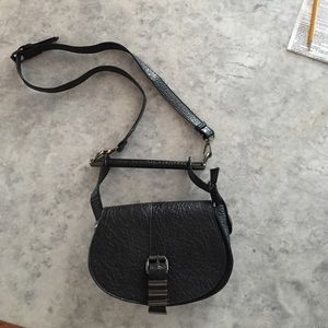 Free People Handbags - Black vegan leather purse
