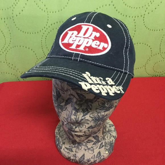 832b998e76d Accessories - Dr Pepper ball cap